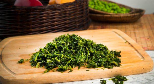 خرید اینترنتی سبزی آش منجمد