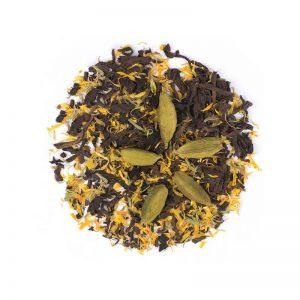 دمنوش گیاهی مخلوط گل همیشه بهار - چای قرمز - هل