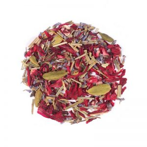 دمنوش گیاهی مخلوط چای ترش - اسطوخودوس - لمونگرس - هل