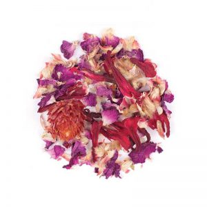 دمنوش گیاهی مخلوط چای ترش - گلبرگ گل محمدی - شبدر قرمز