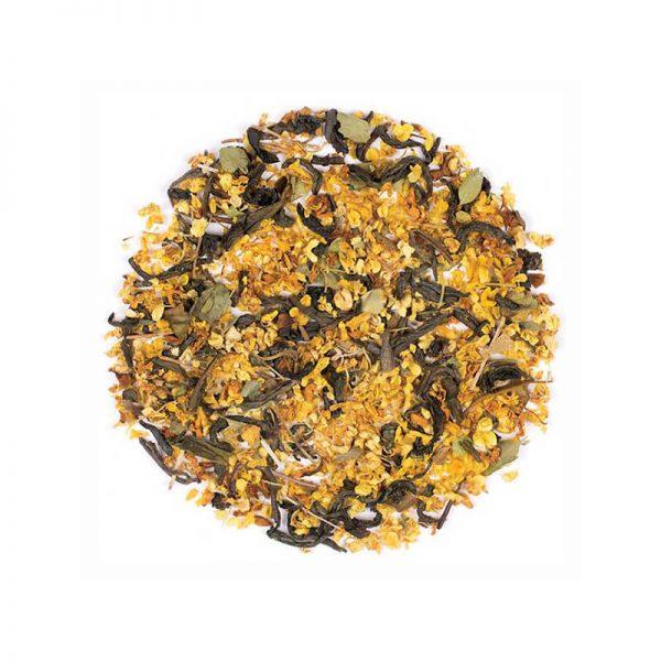دمنوش گیاهی مخلوط چای سبز - زیتون شیرین - آویشن