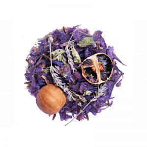 خرید اینترنتی دمنوش گیاهی مخلوط گل گاوزبان - بادرنجبویه - اسطوخودوس - لیمو عمانی