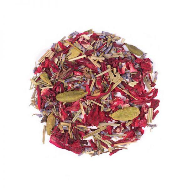خرید اینترنتی دمنوش گیاهی مخلوط لیموترش - چای ترش - اسطوخودوس - هل