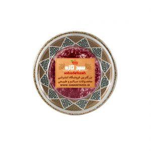 زعفران-نیم-مثقالی-خاتم سبد تازه